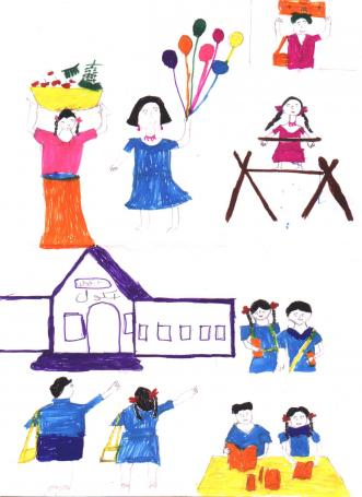 Khoj Children Painting