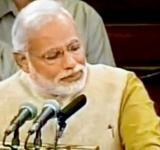 Modi Crying