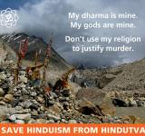 Save Hinduism from Hindutva