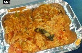 Indian railway food