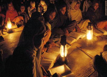Electricity for villages